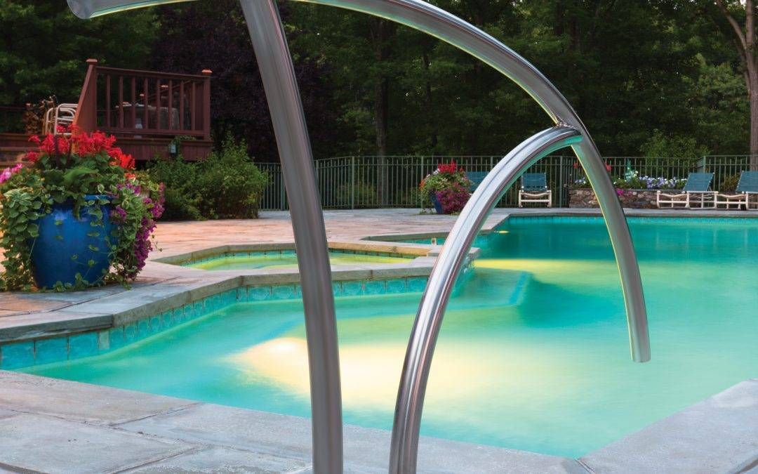 Pool Rails & Ladders To Allow Safe & Easy Access To Your Pool