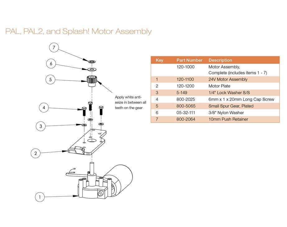 Thumbnail for PAL Motor Assembly