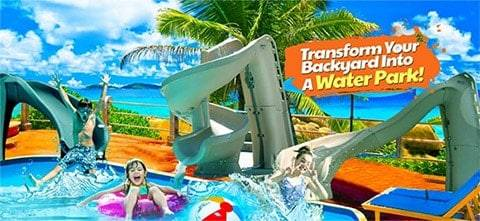 POOL WATER SLIDES – for some SERIOUS FUN!
