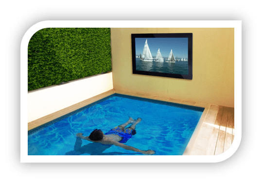 TV-In-Pool